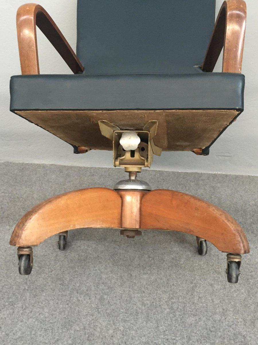 Sedia da scrivania girevole di mobili riva italia anni for Mobili anni 60