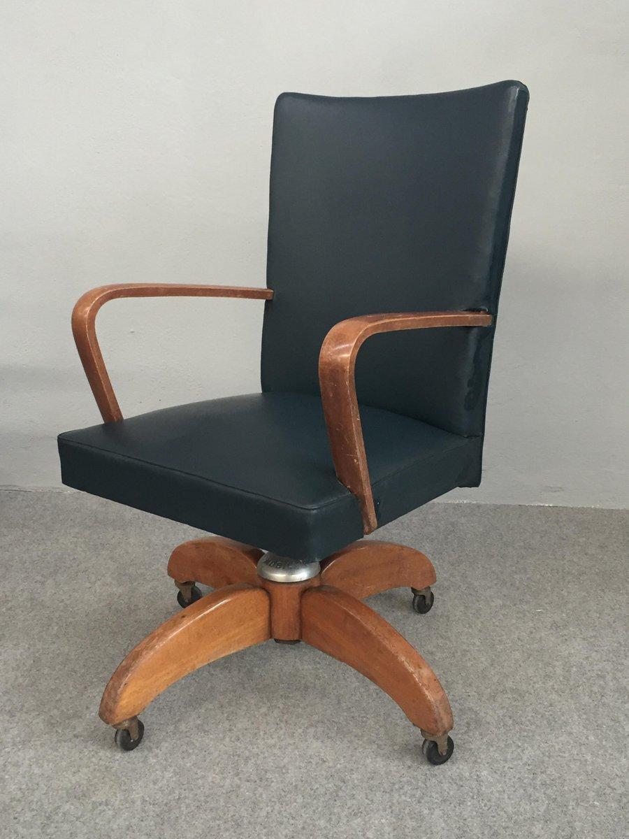Sedia da scrivania girevole di mobili riva italia anni - Sedia scrivania ...