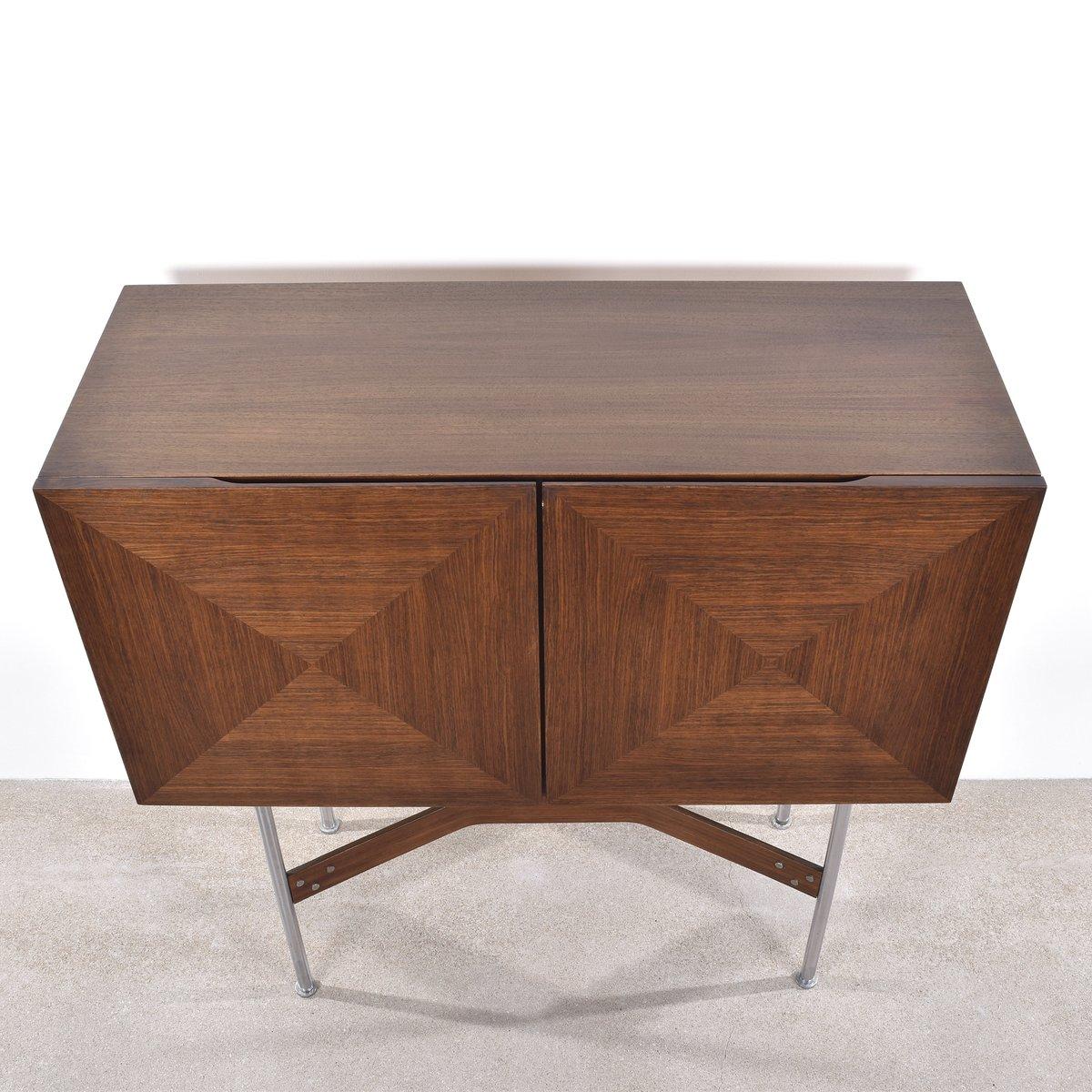 meuble de bar vintage par rudolf bernd glatzel pour. Black Bedroom Furniture Sets. Home Design Ideas