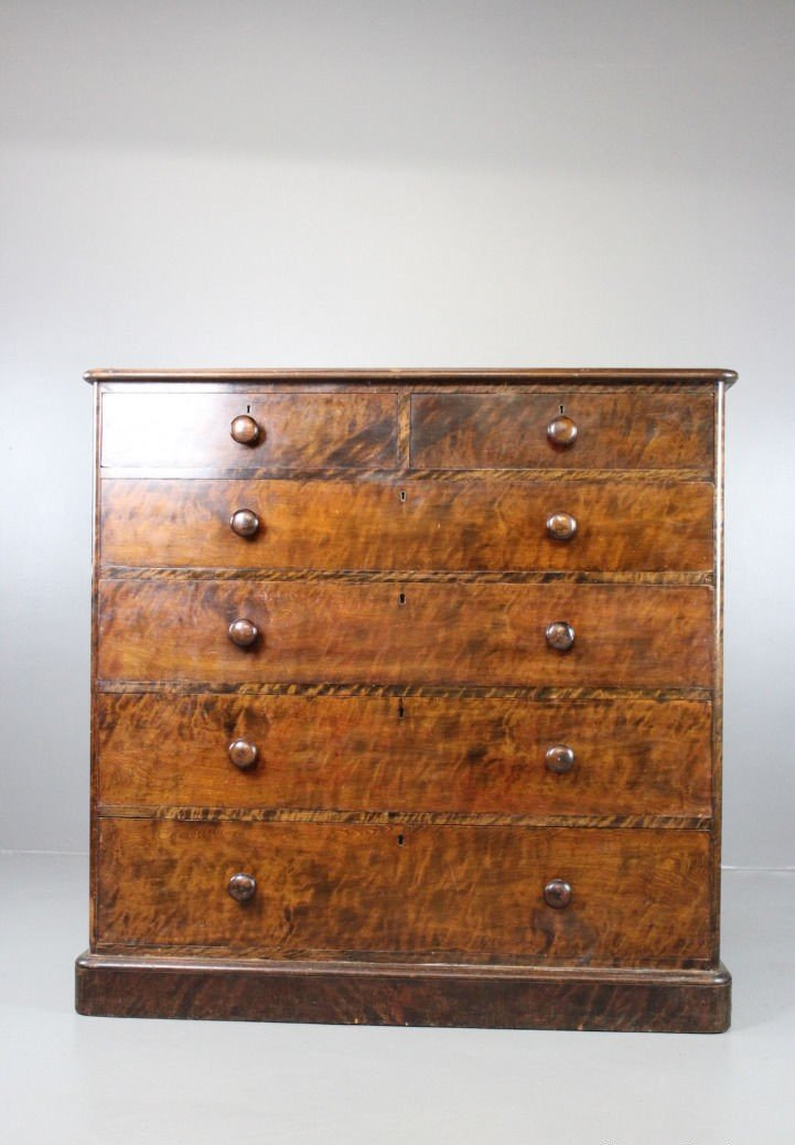 antique large victorian mahogany chest of drawers for sale. Black Bedroom Furniture Sets. Home Design Ideas