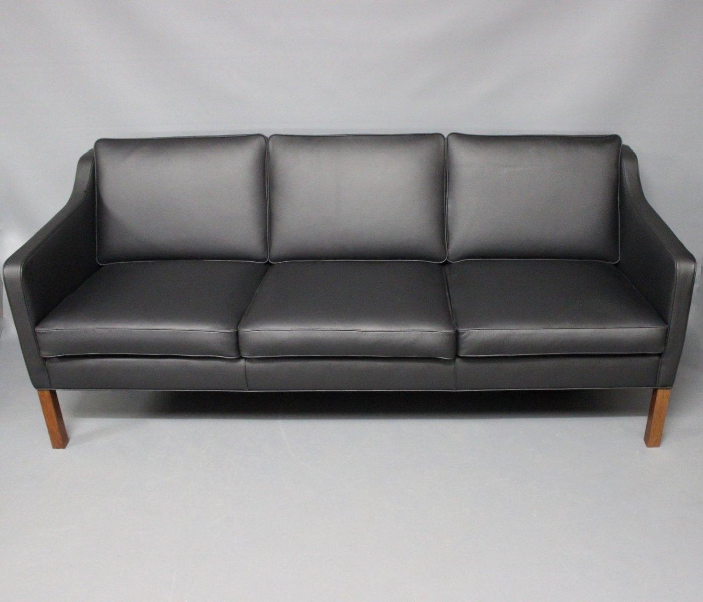 2209 BM 3-Sitzer Sofa von Børge Mogensen für Fredericia, 1970er