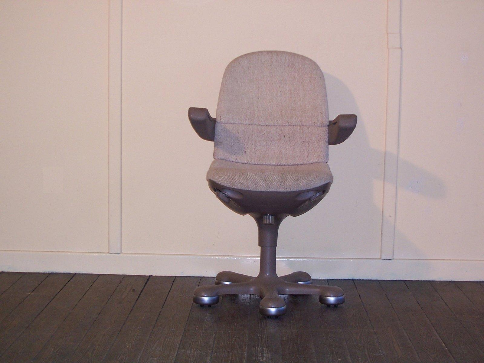 Chaise de bureau roulettes vintage de mauser en vente sur pamono - Chaise de bureau antique ...