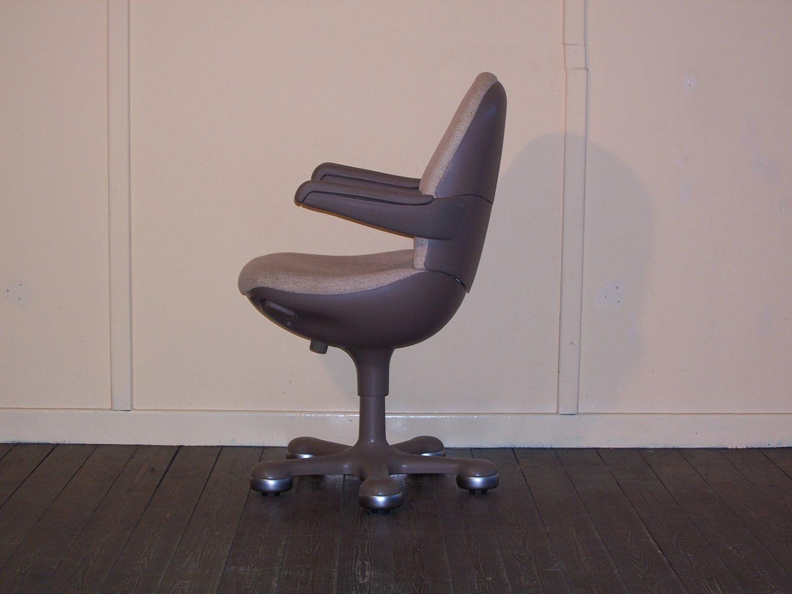 vintage b rostuhl auf rollen von mauser bei pamono kaufen. Black Bedroom Furniture Sets. Home Design Ideas