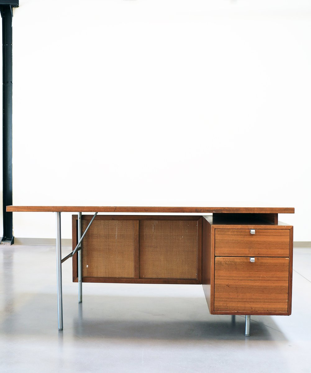 Mid Century Floating Executive Desk By George Nelson For Herman Miller