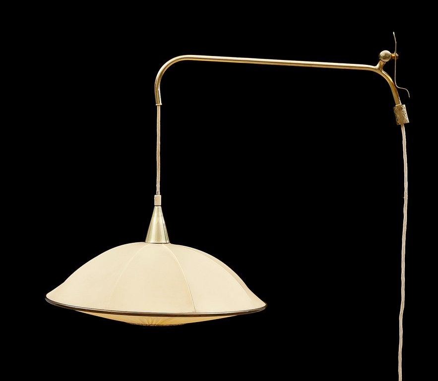 Finnische Vintage Wandlampe von Valinte