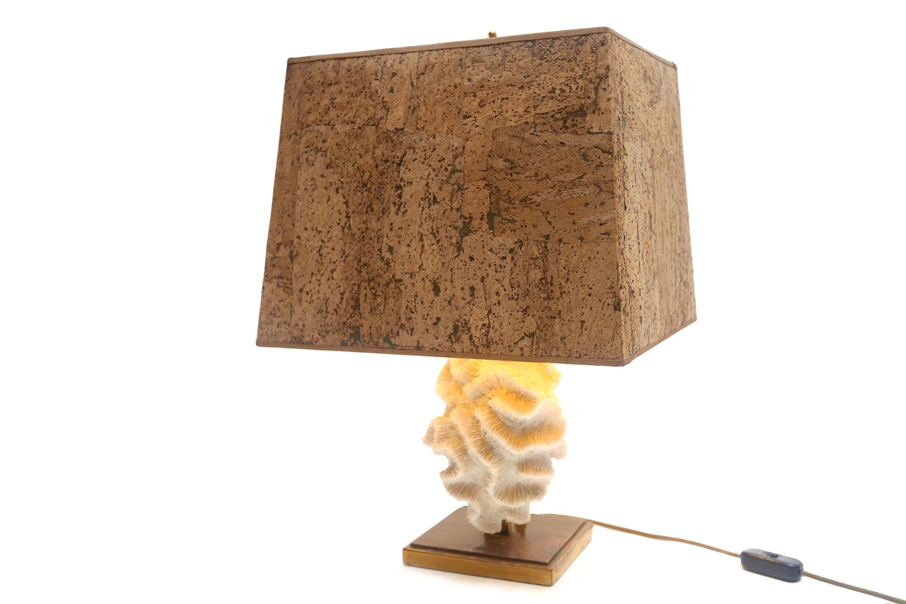 Coral Table Lamps, Set Of 2