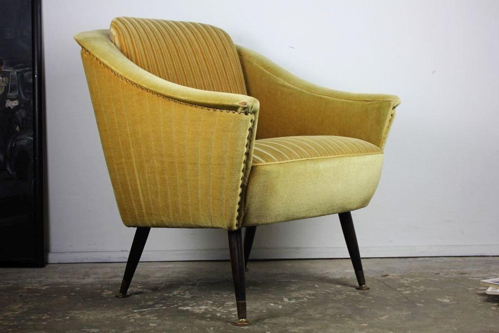 Deutscher Vintage Grüner Sessel, 1950er