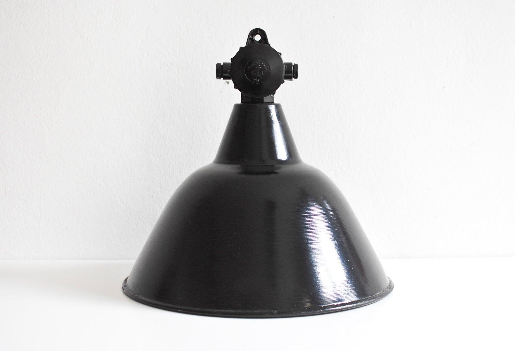 Deutsche Industrie Fabriklampe