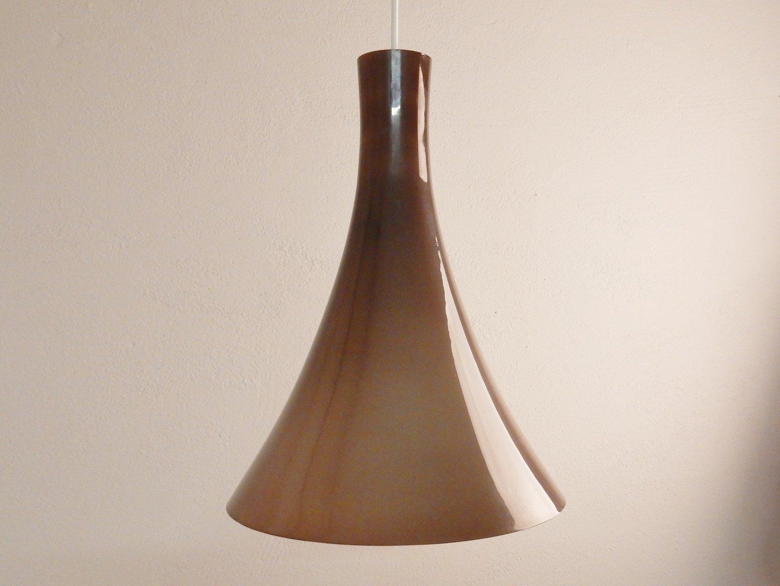 Lampade A Sospensione Vintage : Lampada a sospensione vintage in vetro in vendita su pamono