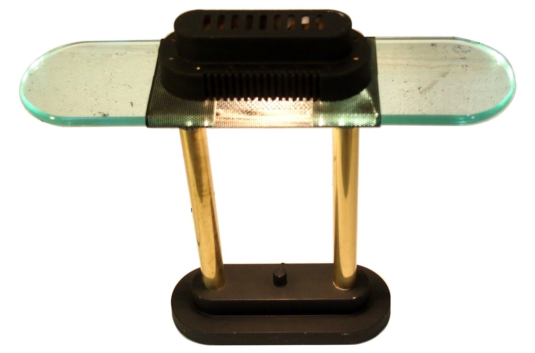 Italienische Schreibtischlampe von George Kovacs für Robert Sonneman, ...