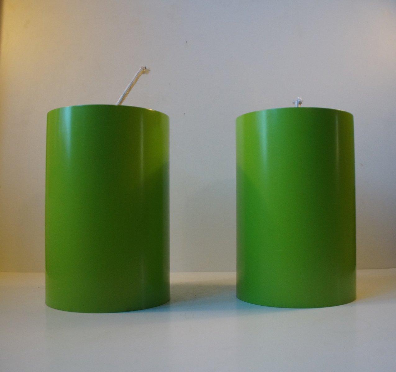 Zylinderförmige dänische Hängelampen von Eila & John Meiling für Louis...