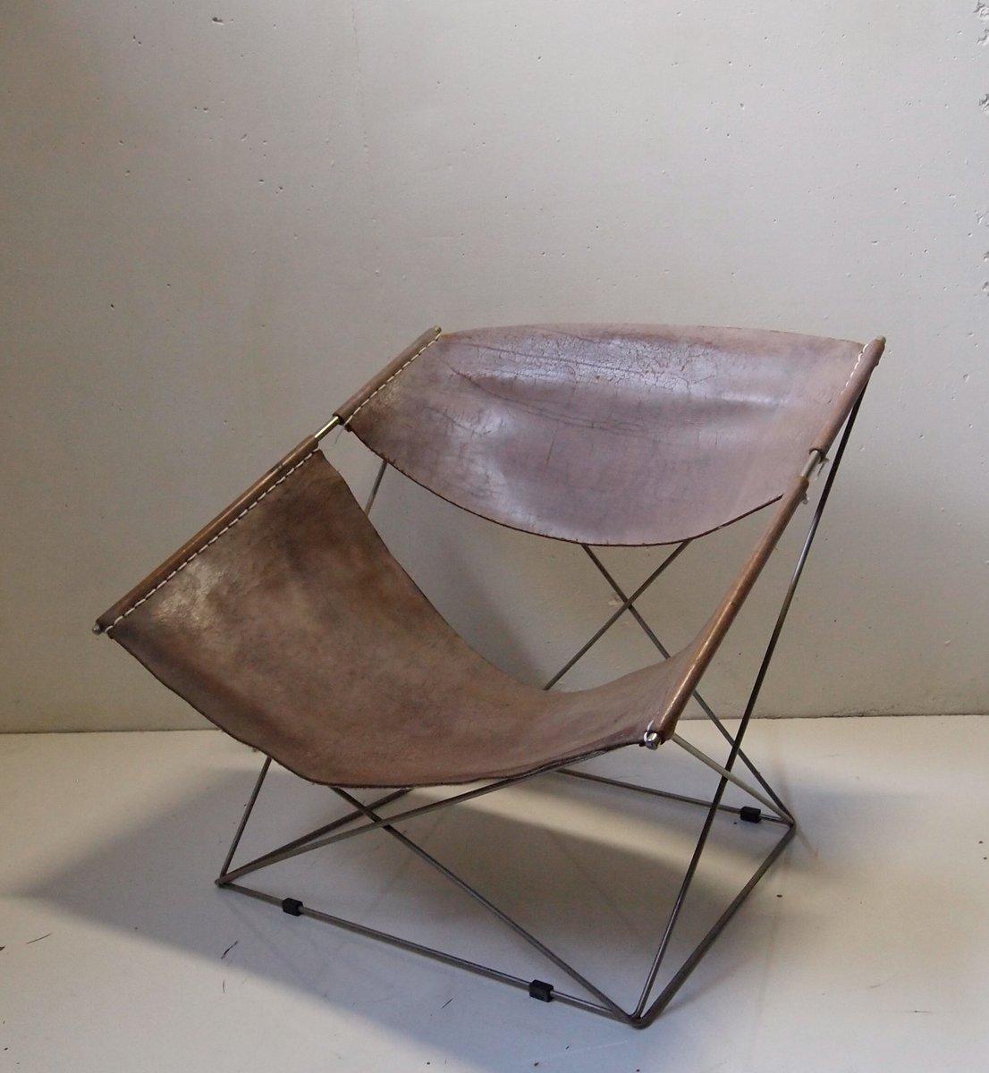 chaise butterfly 675 par pierre paulin pour artifort 1963 en vente sur pamono. Black Bedroom Furniture Sets. Home Design Ideas