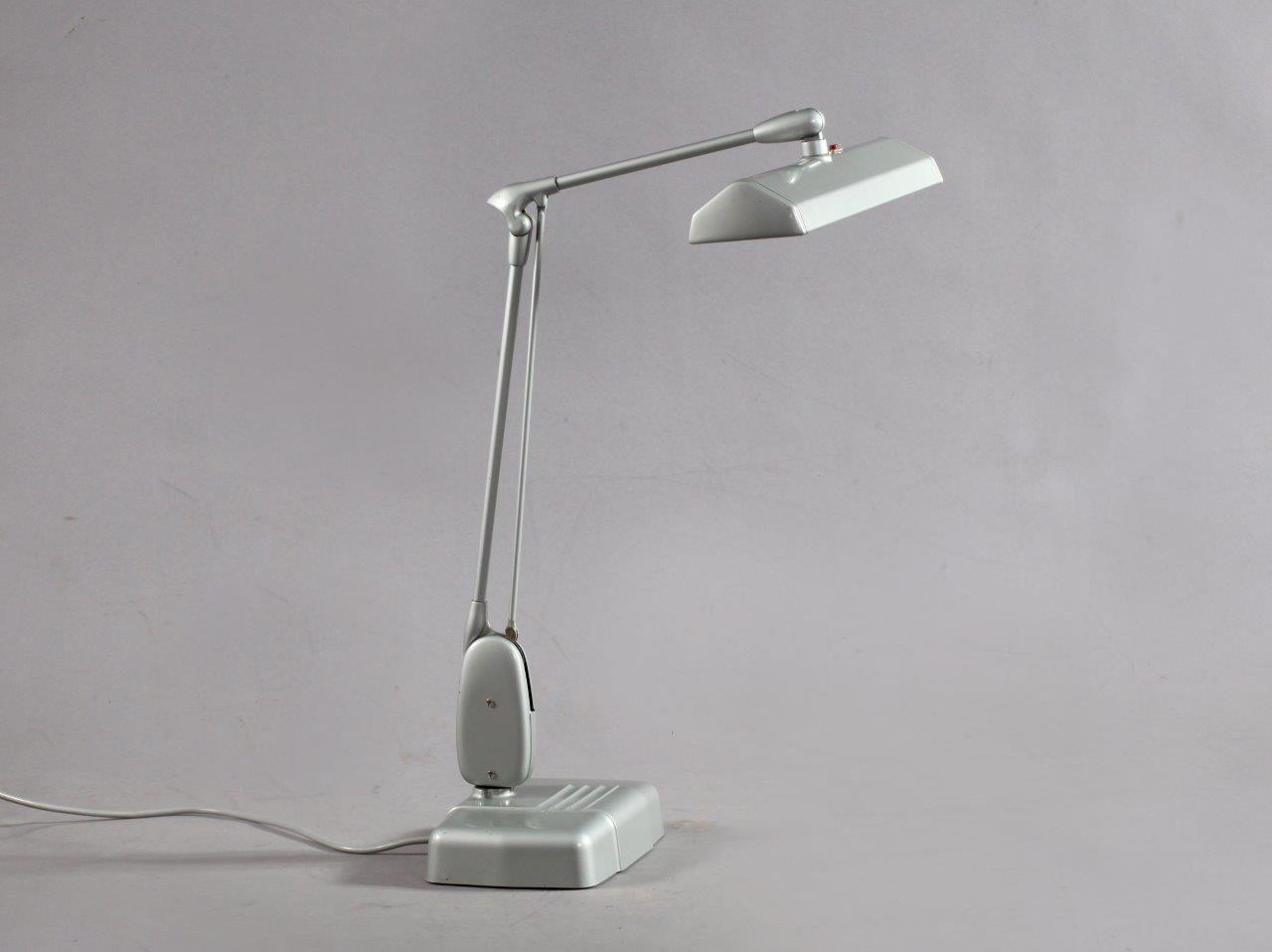 Industrielle Schreibtischlampe von Dazor, 1950