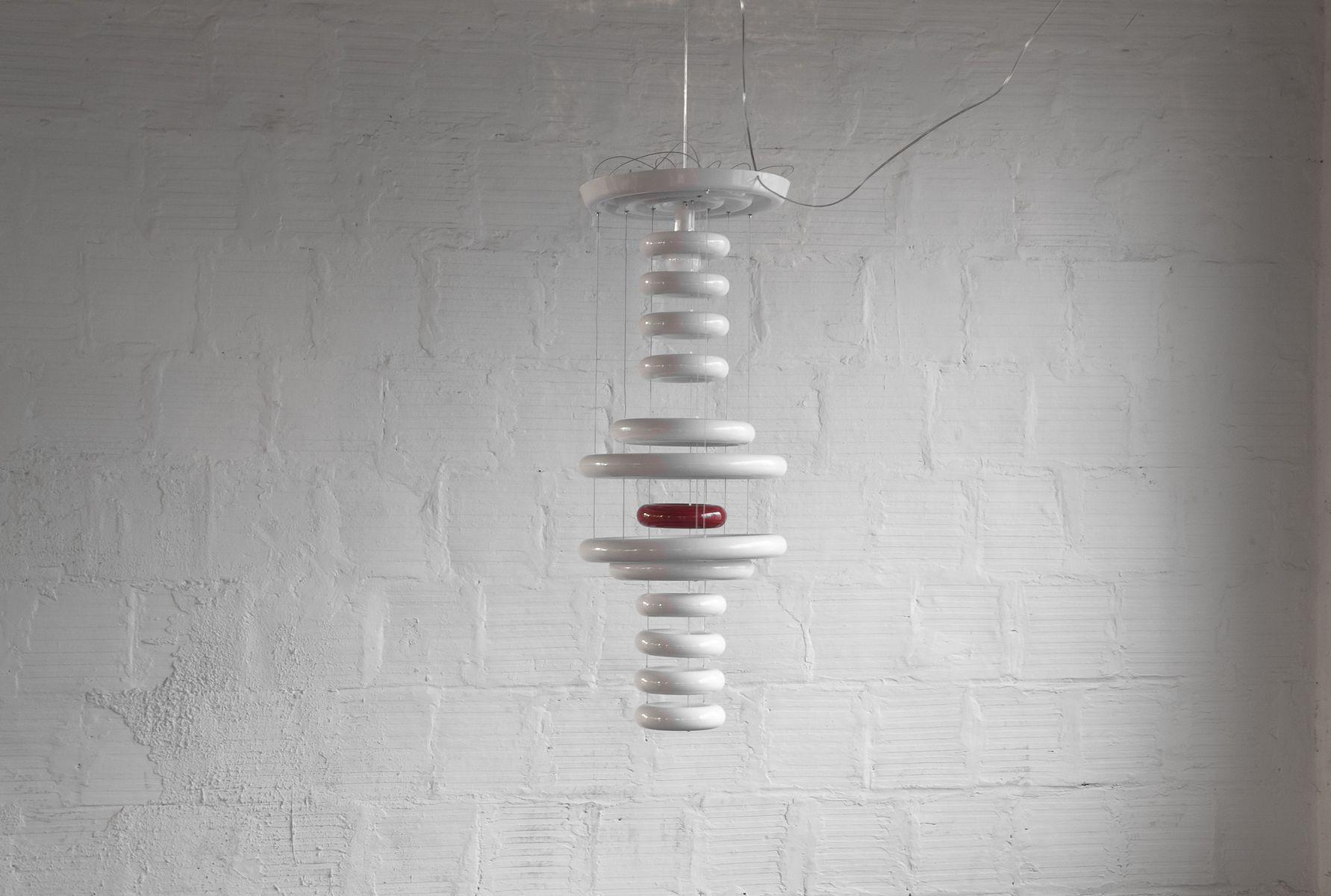 Vintage UFO Lampe von Verner Panton für Verpan