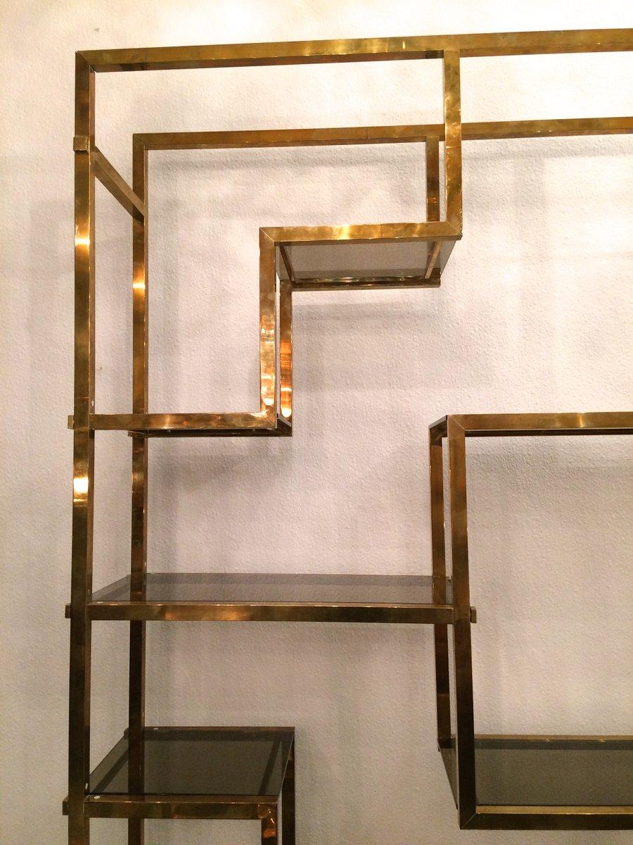 gro es italienisches regal von romeo rega 1970er bei pamono kaufen. Black Bedroom Furniture Sets. Home Design Ideas