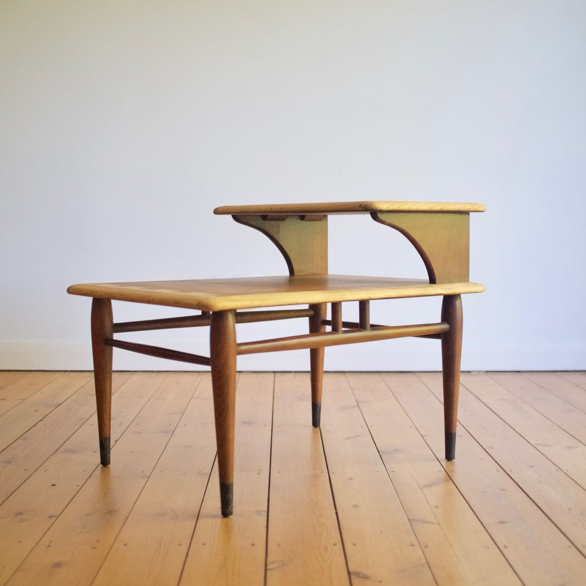 Mid Century Side Table By Andre Bus For Lane Furniture