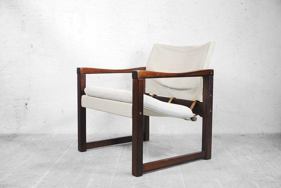 Scandinavian Diana Safari Canvas Chairs by Karin Mobring ...