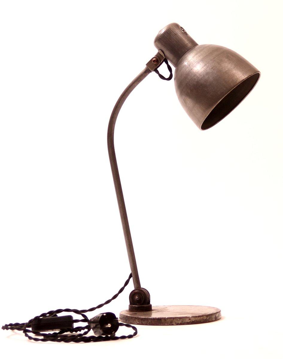 Deutsche Vintage Industrie Tischlampe