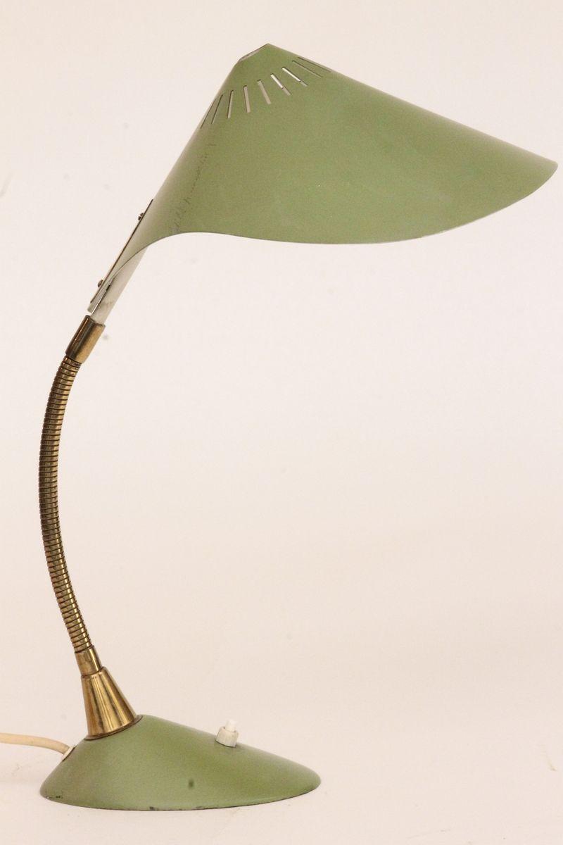 Grüne Deutsche Tischlampe from Cosack, 1950er