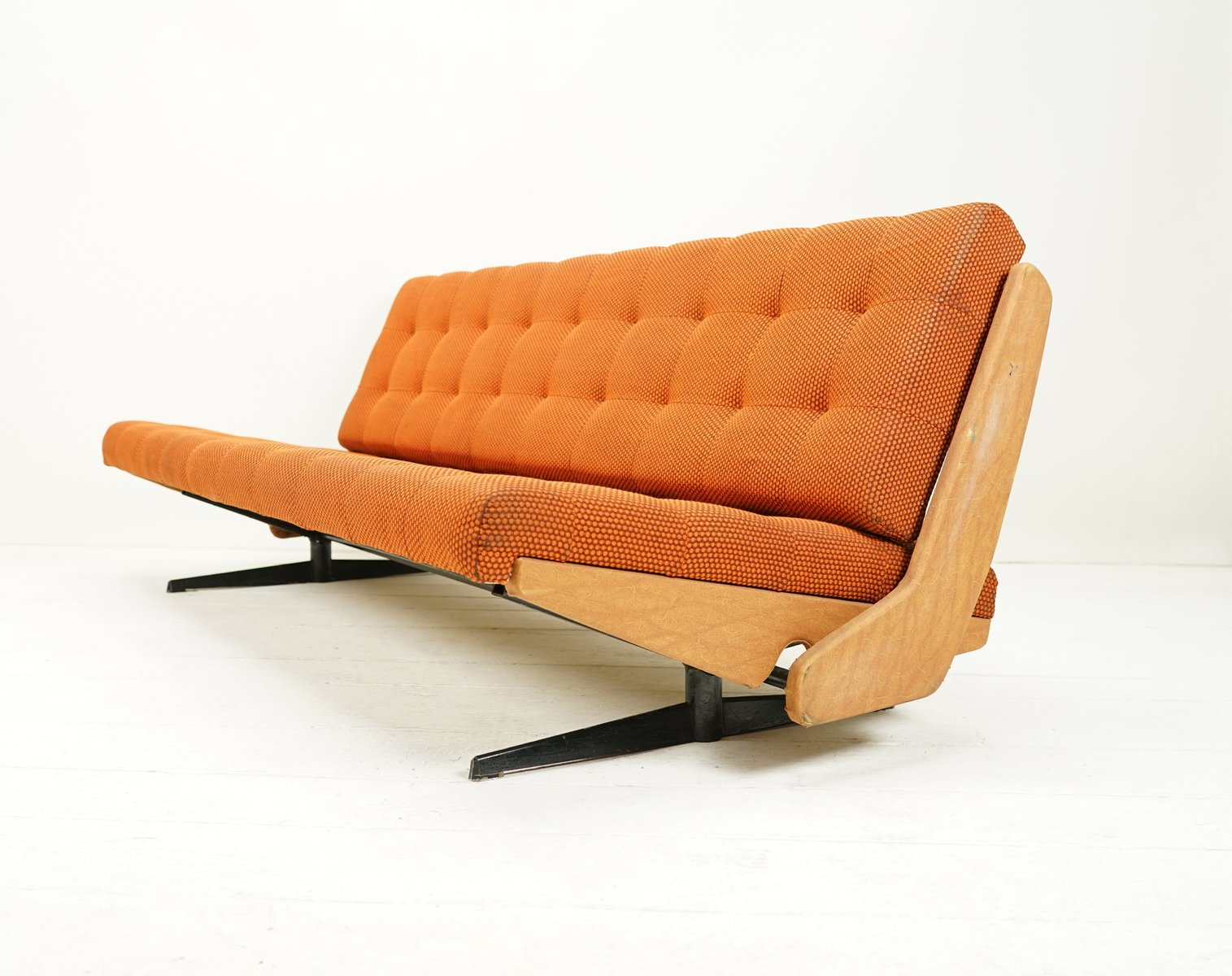 d nisches vintage schlafsofa von m cke melder 1960er bei pamono kaufen. Black Bedroom Furniture Sets. Home Design Ideas
