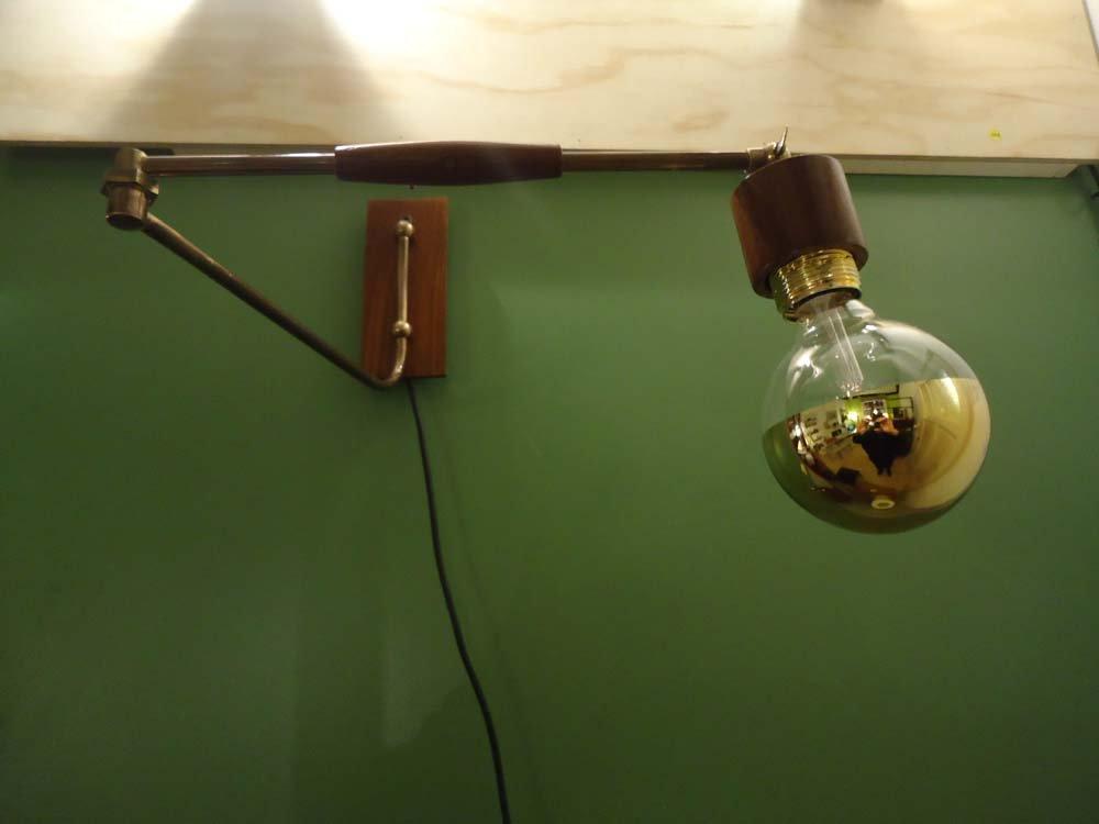 Horizontale Ausziehbare Wandlampe, 1970er