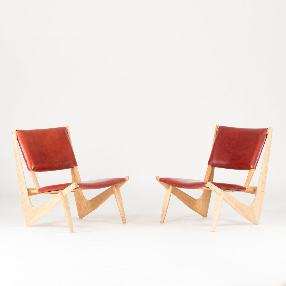 Presens Lounge Stühle von Bertil W. Behrman für AB Engens Fabriker, 19...