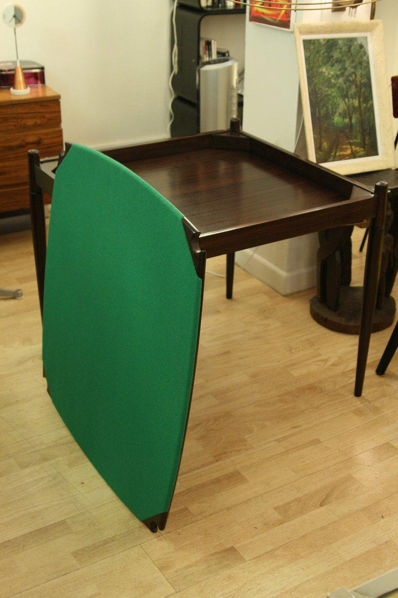 table de poker ou de salon vintage par gio ponti pour fratelli reguitti en vente sur pamono. Black Bedroom Furniture Sets. Home Design Ideas