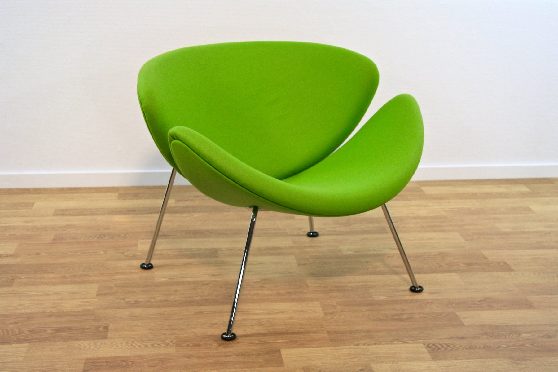 Orange Slice F 437 Lounge Chair By Pierre Paulin For