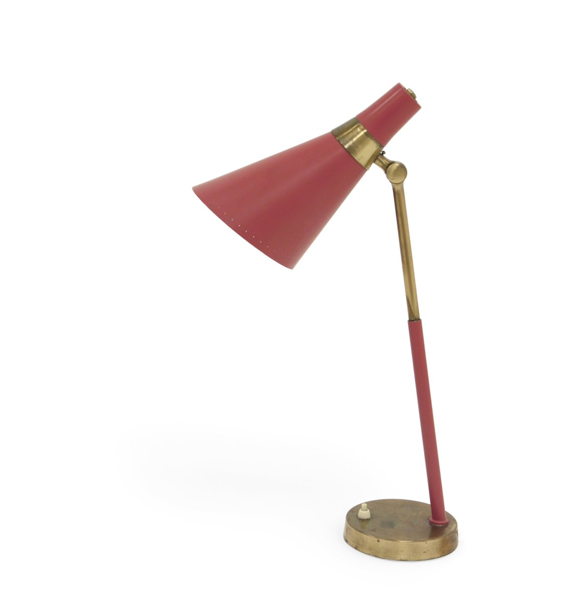 Mid-Century Tischlampe von Jonas Hidle für Høvik Verk, 1950er
