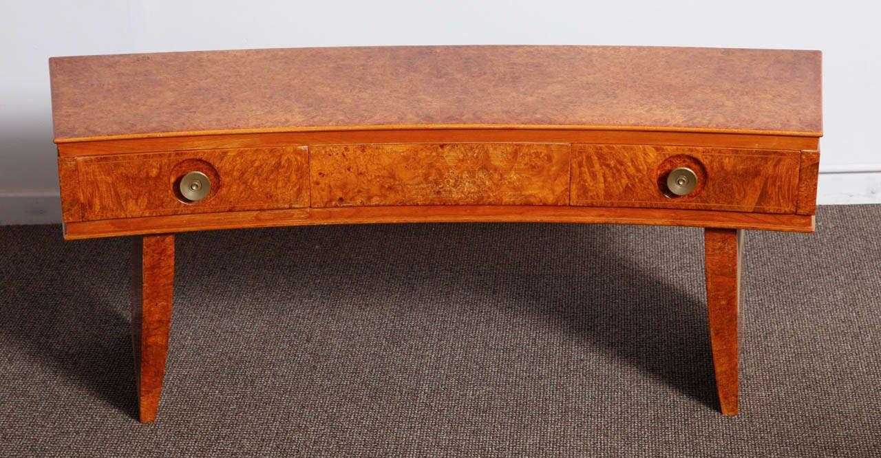 table console art d co italie 1935 en vente sur pamono. Black Bedroom Furniture Sets. Home Design Ideas