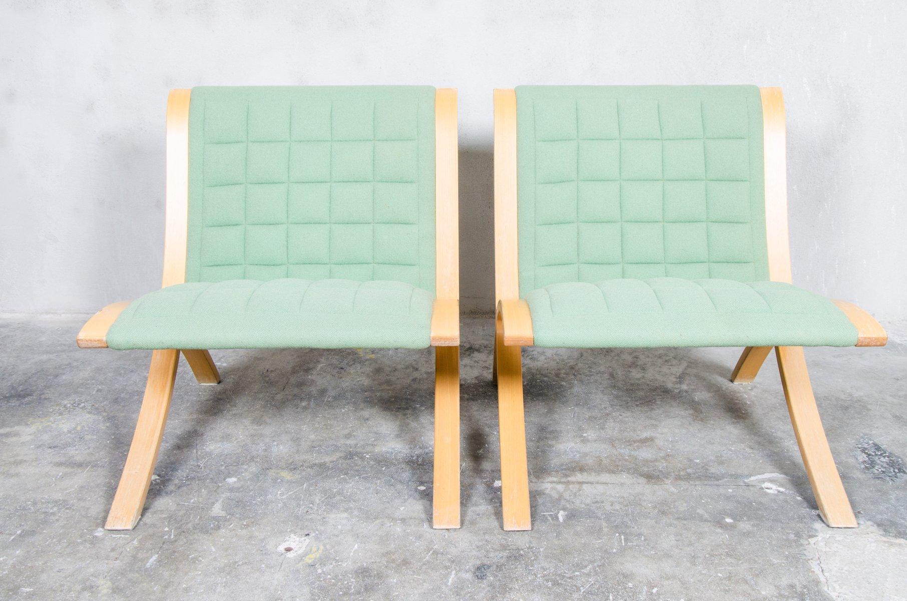 Ax Stühle von Orla Molgaard & Peter Hvidt für Fritz Hansen, 1970er, 2e...