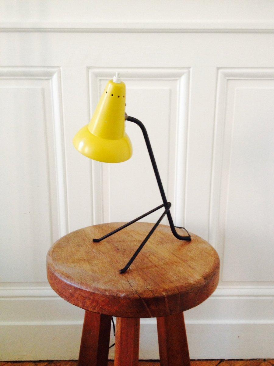 Französische Cocotte Tischlampe, 1950er