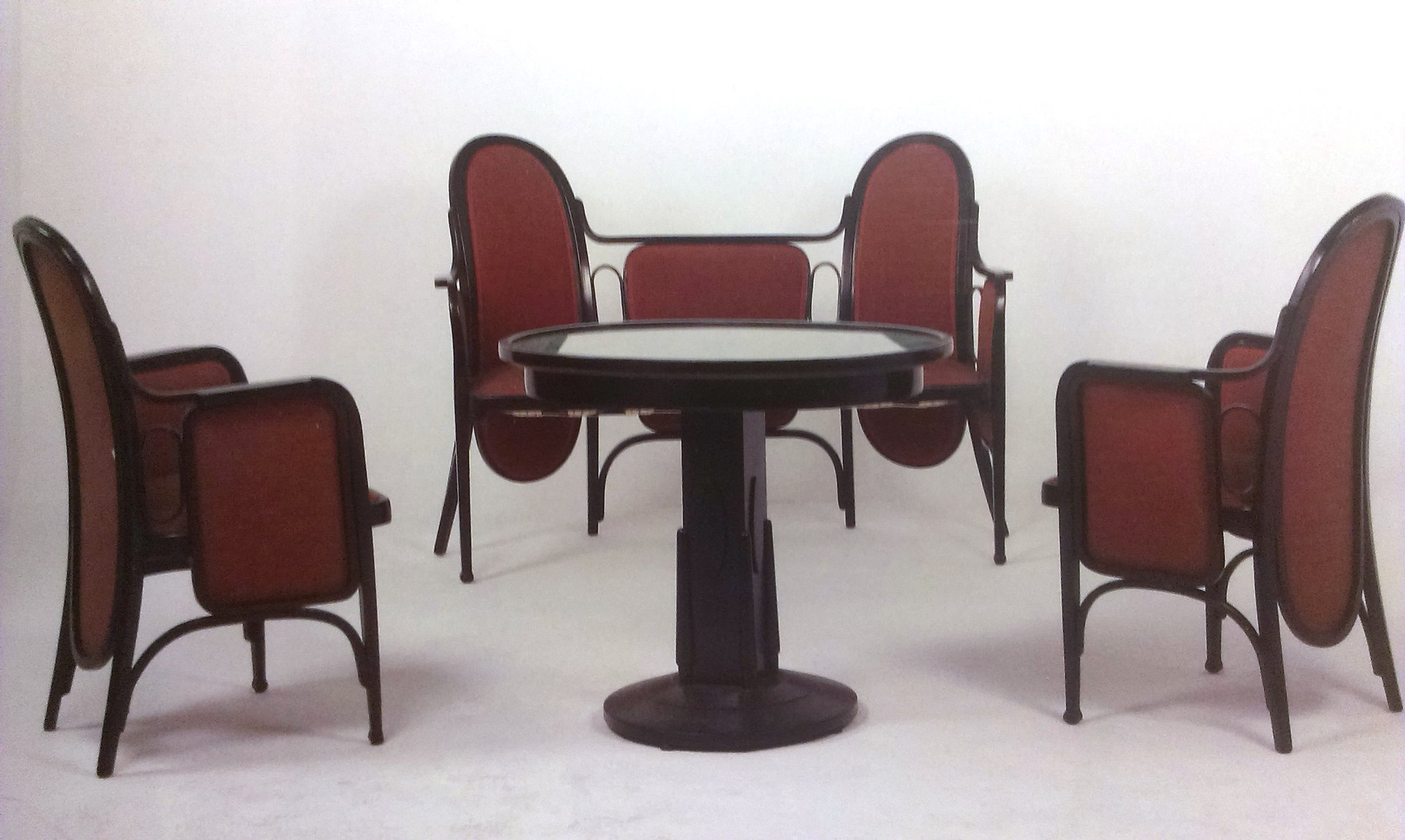 Antique Living Room Set From Thonet / Mundus