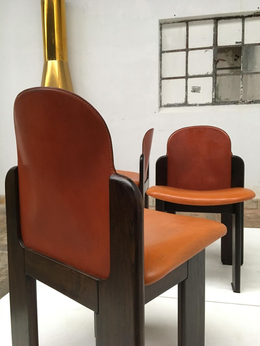 set de salon en bois massif et en cuir 1970s en vente sur pamono. Black Bedroom Furniture Sets. Home Design Ideas