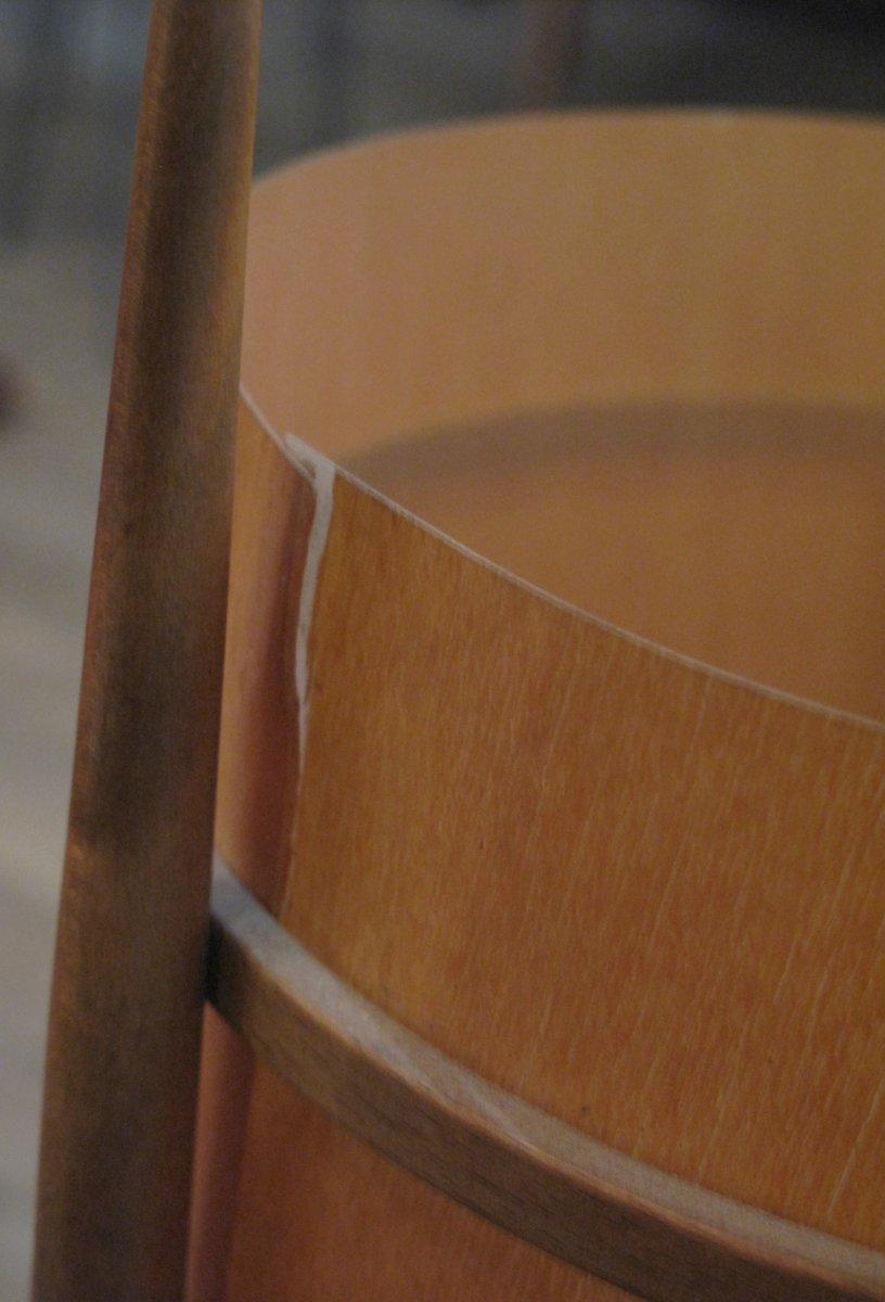 lampe de table en bois contreplaqu avec trois pieds 1960s en vente sur pamono. Black Bedroom Furniture Sets. Home Design Ideas