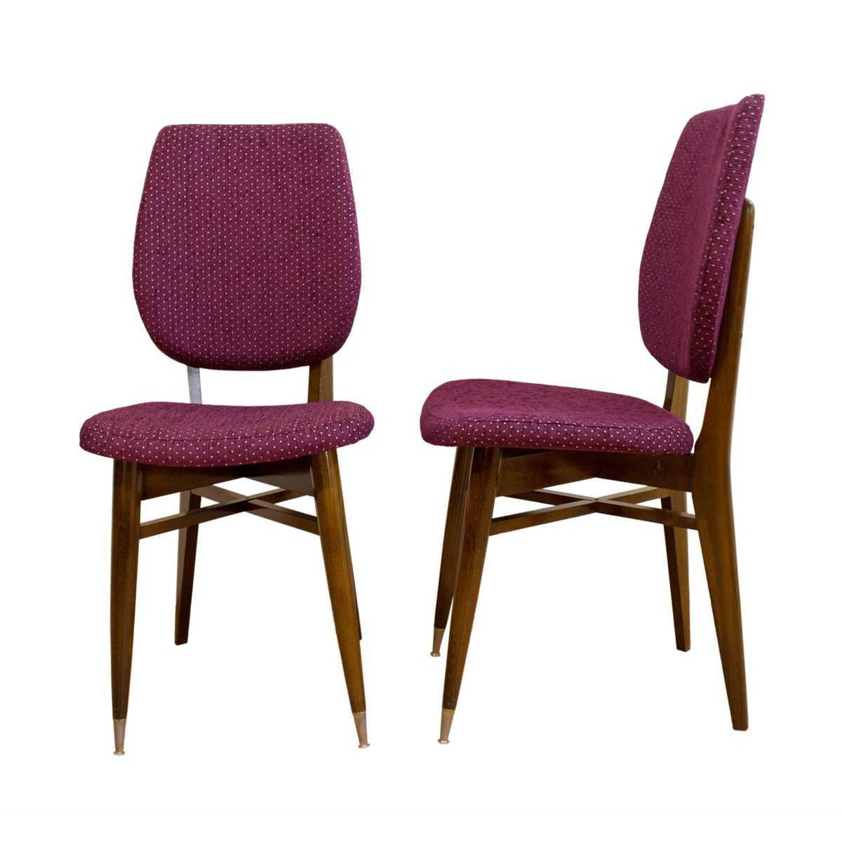 franz sische st hle 1960er 2er set bei pamono kaufen. Black Bedroom Furniture Sets. Home Design Ideas