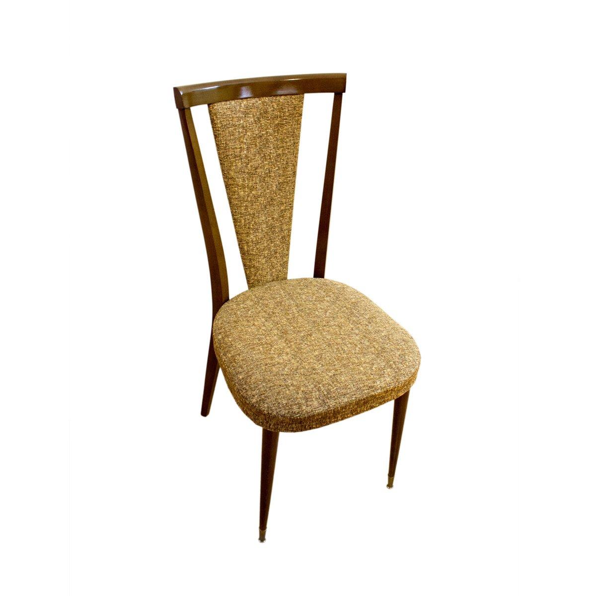 franz sische nussbaum st hle 1970er 2er set bei pamono kaufen. Black Bedroom Furniture Sets. Home Design Ideas
