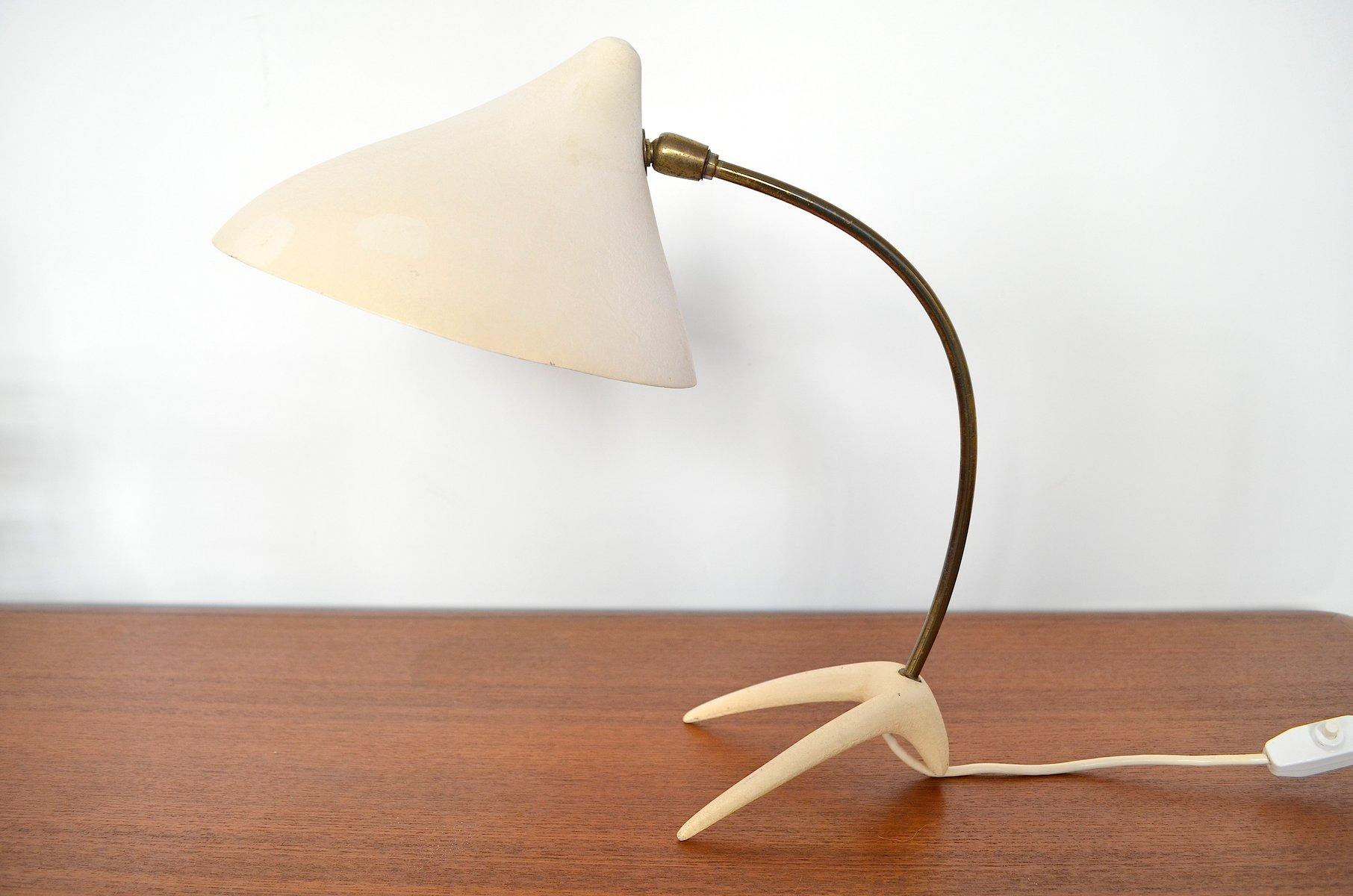 Krähenfuß Tischlampe von Louis Kalff für Philips, 1950er