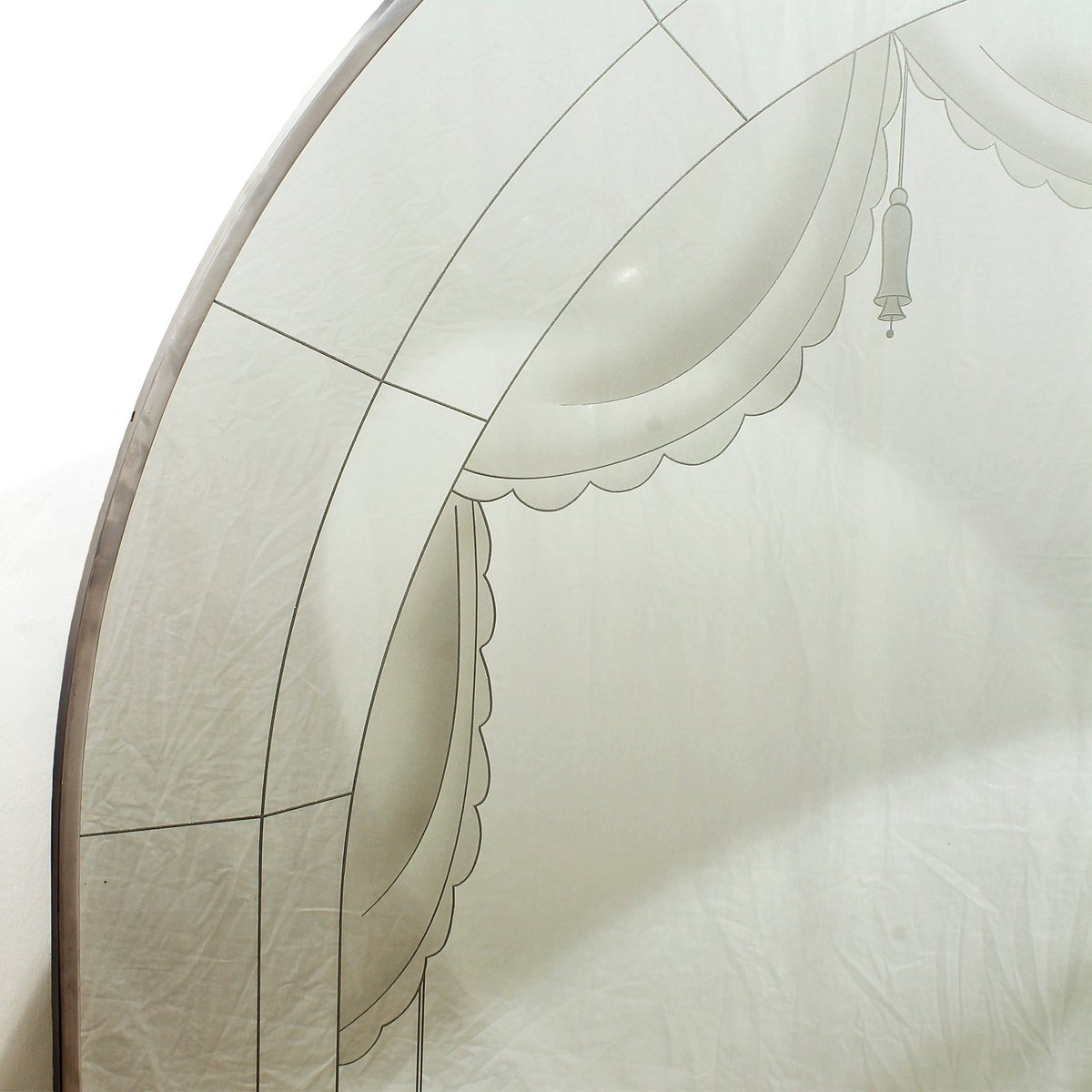 grand miroir art d co 1930s en vente sur pamono. Black Bedroom Furniture Sets. Home Design Ideas