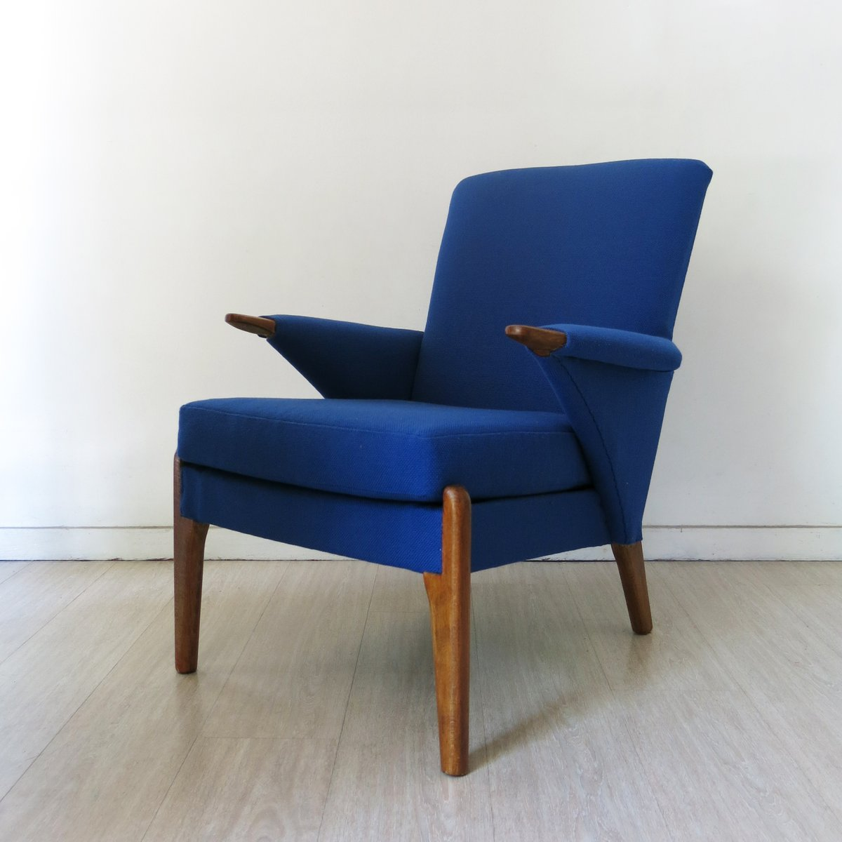 Britischer Blauer Vintage Sessel von Parker Knoll, 1960er