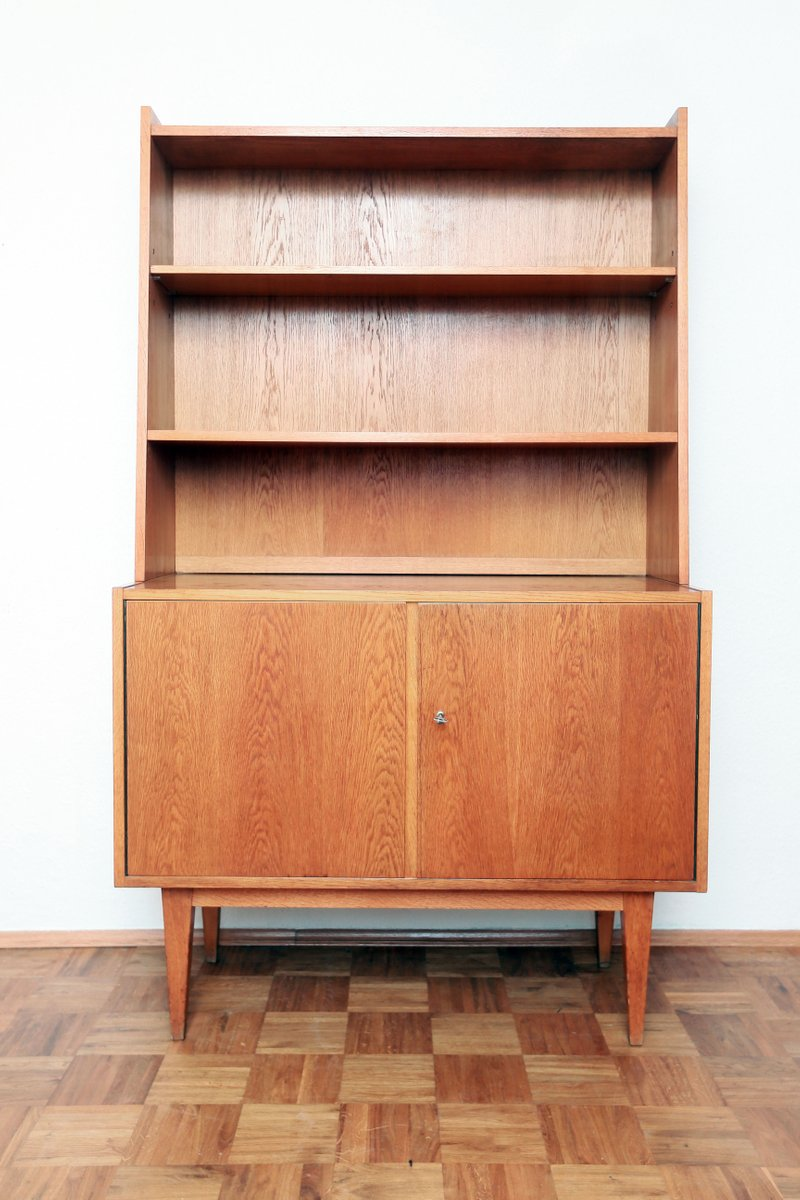 Mid Century German 602 Sideboard Bookshelf By Franz Ehrlich For VEB Deutsche Werksttten Hellerau