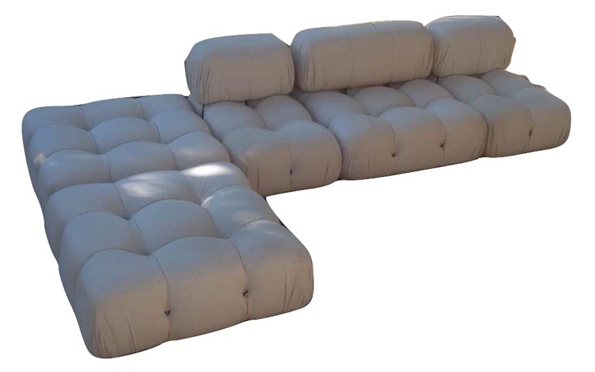 Modulares Vintage Camaleonda Lounge Sofa von Mario Bellini für C&B Ita...