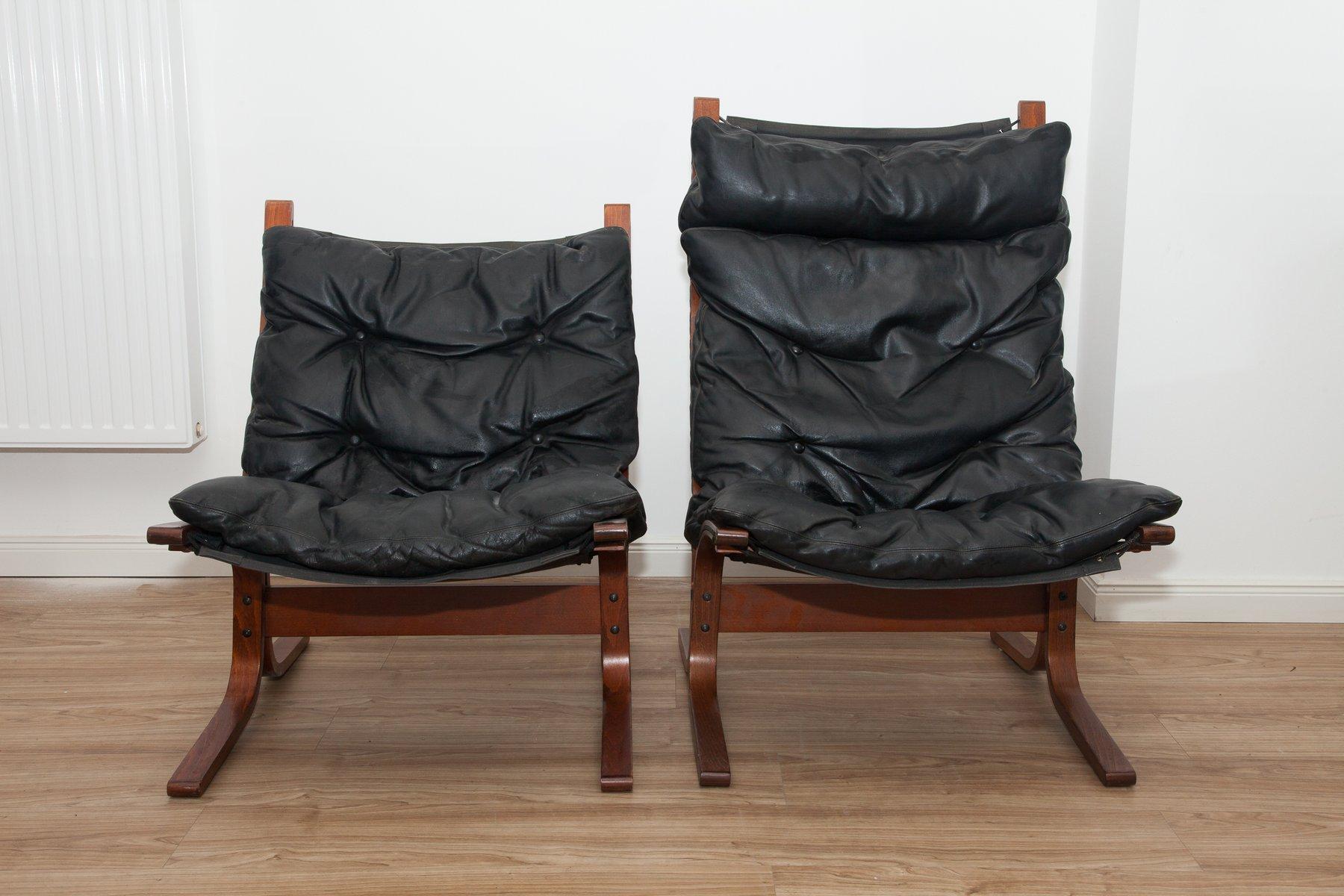 Vintage Siesta Sessel von Ingmar Relling für Westnofa, 2er Set