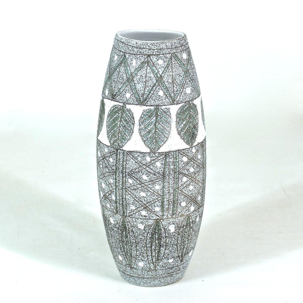 italienische mid century vase von fratelli fanciullacci bei pamono kaufen. Black Bedroom Furniture Sets. Home Design Ideas