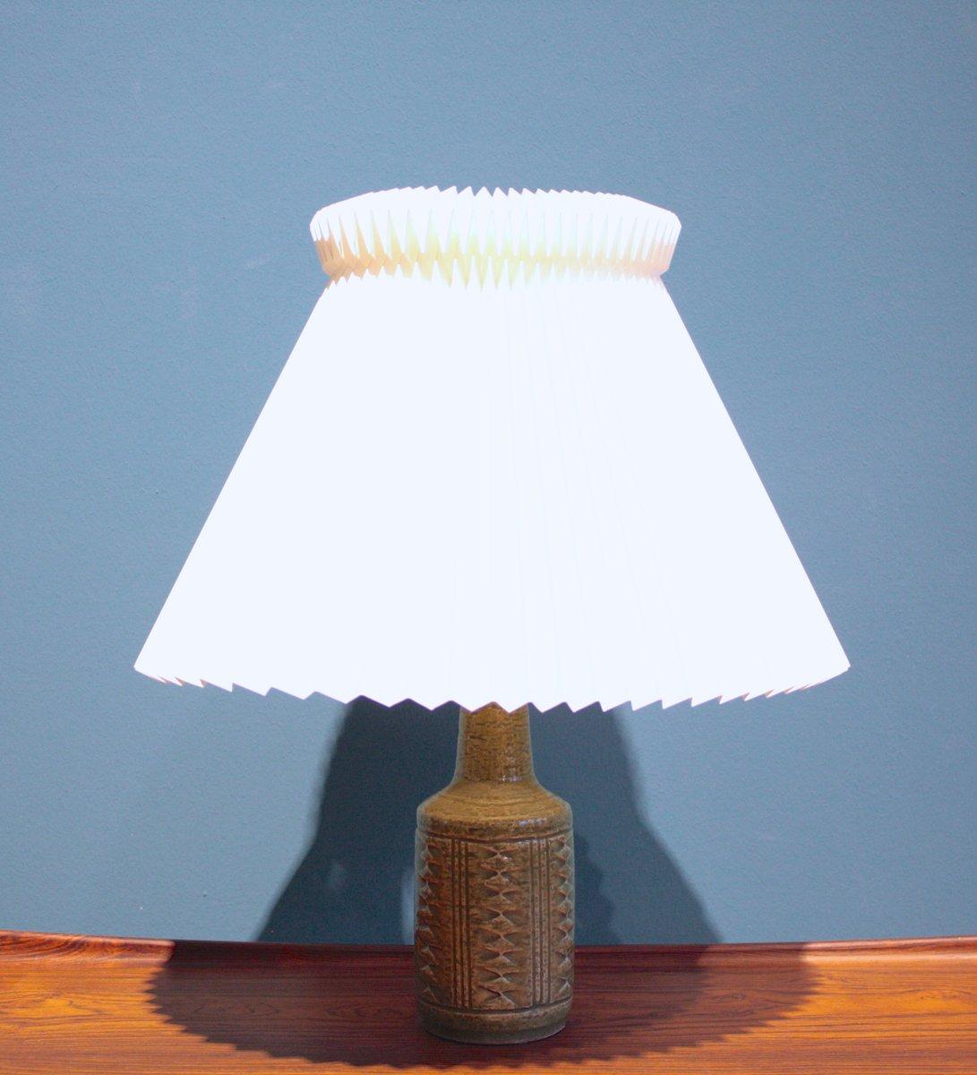 Lampada Da Tavolo Piccola Di Palshus Danimarca Anni 39 60