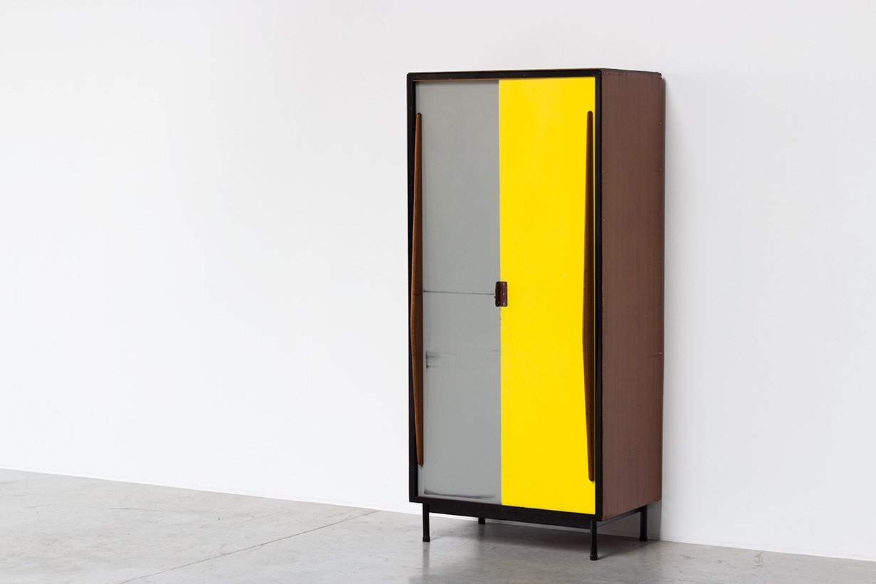 Vintage Locker By Willy Van Der Meeren For Tubax For Sale