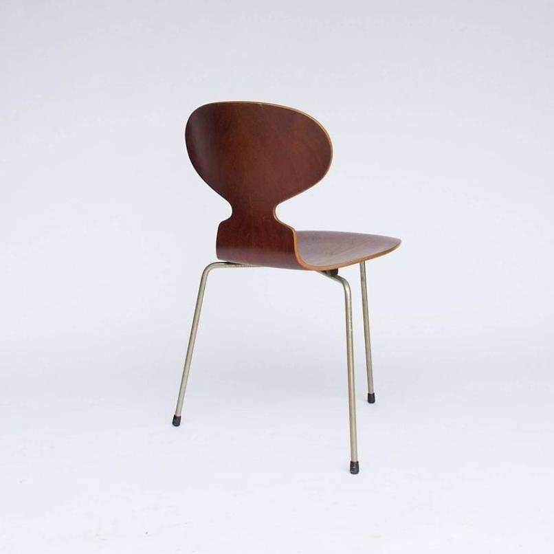vintage ant st hle von arne jacobsen f r fitz hansen 4er set bei pamono kaufen. Black Bedroom Furniture Sets. Home Design Ideas
