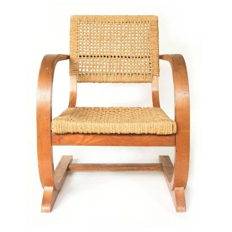 vintage seilschlinge sessel mit hoher r ckenlehne von bas van pelt bei pamono kaufen. Black Bedroom Furniture Sets. Home Design Ideas