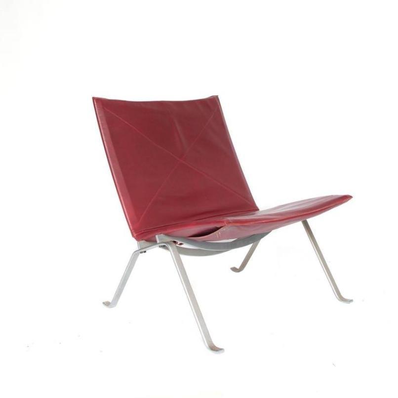 Mid-Century PK22 Lounge Stuhl von Poul Kjaerholm für E. Kold Christens...