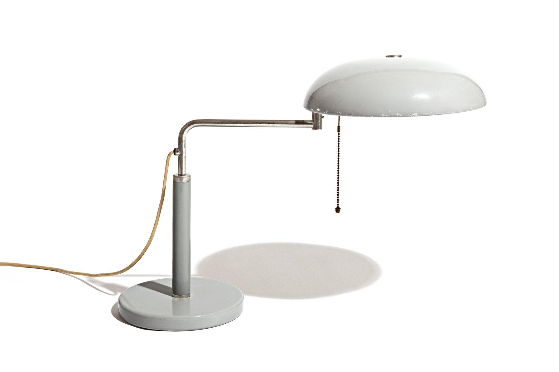 Verstellbare Quick 1500 Schreibtischlampe von Alfred Müller für Belmag...